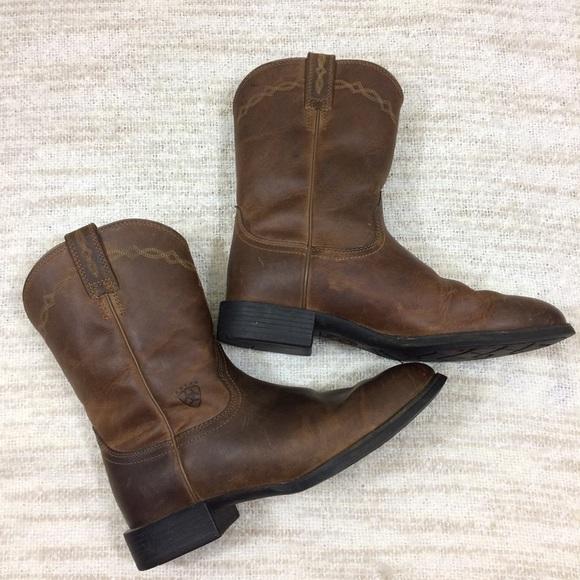 6ea11f958a8 Ariat Men's 9.5 Heritage Roper Cowboy Boots